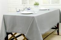 Maspar Checkered 8 Seater Table Cover Grey, Cotton - TCVEBG3QF8DDFPWK