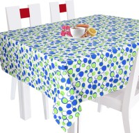 Smart Home Geometric 10 Seater Table Cover Green, Cotton