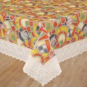 Bianca Anti Skid Table Cover - Multicolor, Pack Of 1 - TCVE2T3SQAZTHX7N