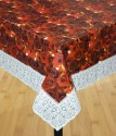 Katwa Clasic Printed With Non-woven Backing 4 Seater Dining Table Cover - Multicolor, Pack Of 1 - TCVE2T2YUQK5K8DH