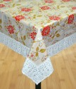 Katwa Clasic Printed With Non-woven Backing 6 Seater Dining Table Cover - Multicolor, Pack Of 1 - TCVE2T2ZWDHAPQVA