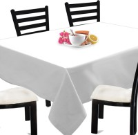 Smart Home Printed 2 Seater Table Cover White, Cotton