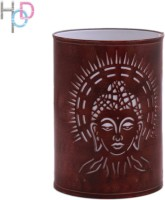 Height Of Designs Holy Budha Night Lamp (15 Cm, Brown)
