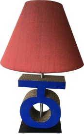 Sylvn studio Tranquil THA letter lamp Maroon Table Lamp