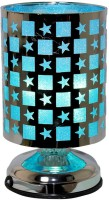 Gift Island Modern Touch Table Lamp (28 Cm, Blue)