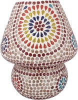 Lime Light Mosaic Decoratives LL05 Table Lamp (22.86 Cm, Multicolor)