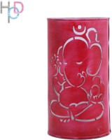 Height Of Designs Lord Ganesha Table Lamp (25 Cm, Pink)