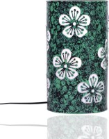 Height Of Designs Green Flower Table Lamp (21.59 Cm, Green)
