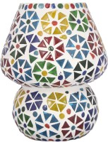 Lime Light Mosaic Decoratives LS06 Table Lamp (16.51 Cm, Multicolor)