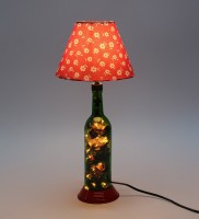 What Scrap LED Bottle Table Lamp (50 Cm, Multicolor)