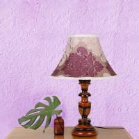 Yashasvi Daniella Colors Table Lamp (45 Cm, Grape)