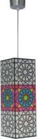 Shady Ideas Rangoli Ceiling Lamp (38 Cm, Multicolor)