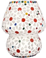 Lime Light Mosaic Decoratives LS03 Table Lamp (16.51 Cm, Multicolor)