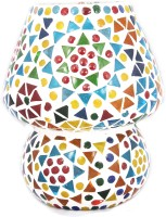 Lime Light Mosaic Decoratives LS01 Table Lamp (16.51 Cm, Multicolor)