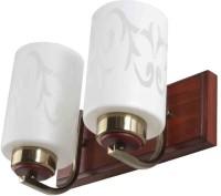 LeArc Designer Lighting WL1645 Wall Lamp (15.5 Cm, Wood Antique Gold)
