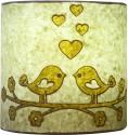 Craftter Love Bird Wall Lamp Table Lamp - Green