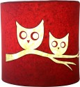 Craftter Talking Owl Wall Lamp Table Lamp - Pink