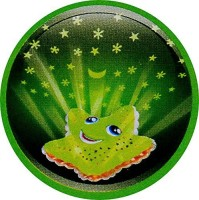 Planet Of Toys Star Light Projector Night Lamp (5 Cm, Green)