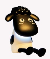 Ek Retail Shop Sheep Shape Study Lamp (22 Cm, Black)