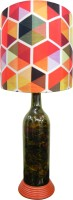 What Scrap Colorful Hexagon Table Lamp (50 Cm, Multicolor)