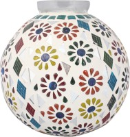 Lime Light Mosaic Decoratives LL15 Table Lamp (21.59 Cm, Multicolor)