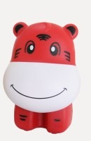 Ek Retail Shop Tiger Shape Study Lamp (25 Cm, Red)