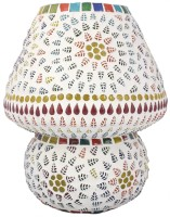 Lime Light Mosaic Decoratives LL02 Table Lamp (22.86 Cm, Multicolor)