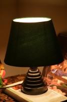 Yashasvi Oval Green Table Lamp Table Lamp (30 Cm, Green)