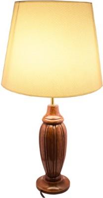 54 off on diya designs wooden table lamp on flipkart for Table lamp flipkart