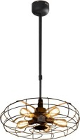 CBM Hanging Pendant Light Ceiling Lamp (106 Cm, Black)