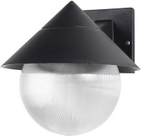 Superscape Exterior Wall Light Modern WL1038 Wall Lamp (20.5 Cm, Black)