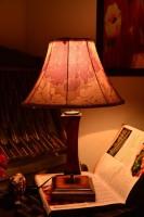Yashasvi Yashasvi Mild Albertrous Table Lamp Table Lamp (45 Cm, Multicolor)
