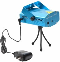 Homes Decor 6 Design Projector Disco Party Mini Laser Light Night Lamp (7 Cm, Blue)