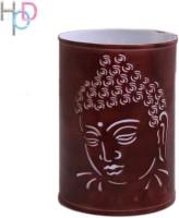 Height Of Designs Budha Side Night Lamp (15 Cm, Brown)