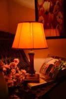 Yashasvi Yashasvi Yellow Drumatic Table Lamp Table Lamp (45 Cm, Yellow)