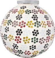 Lime Light Mosaic Decoratives LL12 Table Lamp (21.59 Cm, Multicolor)