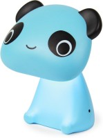 Ek Retail Shop Panda Shape Study Lamp (22 Cm, Blue)
