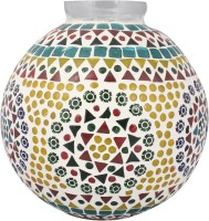 Lime Light Mosaic Decoratives LL13 Table Lamp (21.59 Cm, Multicolor)
