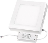 Megaway LED 18W Surface Mounted Panel Light Square CW Ceiling Lamp (8.86 Cm, Cool White)