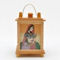 Gaura Art & Crafts Designer Lamp Table Lamp (4 Cm, White)