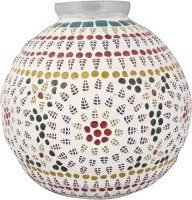 Lime Light Mosaic Decoratives LL14 Table Lamp (21.59 Cm, Multicolor)