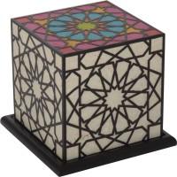 Shady Ideas Rangoli Table Lamp (14.61 Cm, Multicolor)
