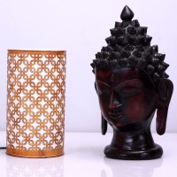 Height Of Designs Box In A Box Table Lamp (21.59 Cm, Orange)
