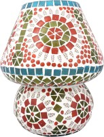 Lime Light Mosaic Decoratives LL03 Table Lamp (22.86 Cm, Multicolor)