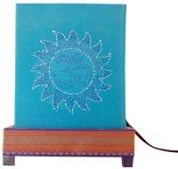 Letter Holder Pithora Sun Table Lamp (Blue)
