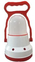 DMSSOLUTIONS LED Light Table Lamp (6.5 Cm, Red And White)