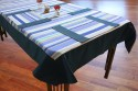 Dekor World Fun With Stripes Table Linen Set - Pack Of 9 - TLSEYAW9MZEFTFDD