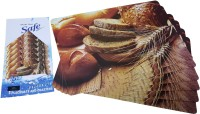 Aastha Home Decor Brown Table Linen Set Pack Of 12