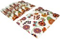 Sriam Floret Leaves Table Placemat - Pack Of 6
