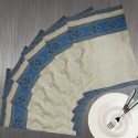 Dekor World Elegant Lace Table Placemat - Pack Of 6 - TPMDSWGCUHKSU8P4